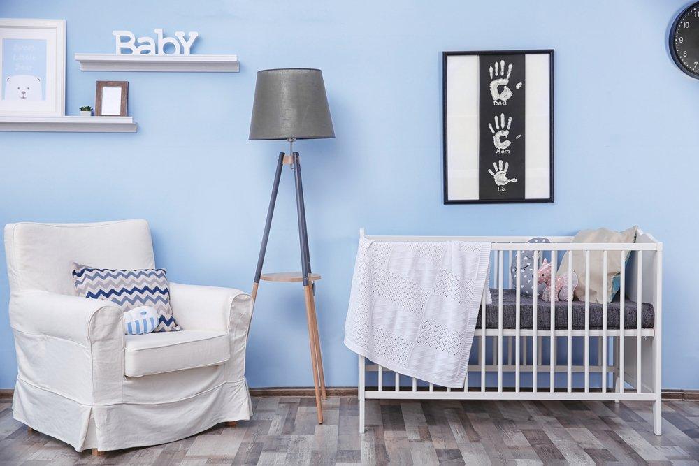 10x Mooie Gordijnen : Een blauwe babykamer kidzlab