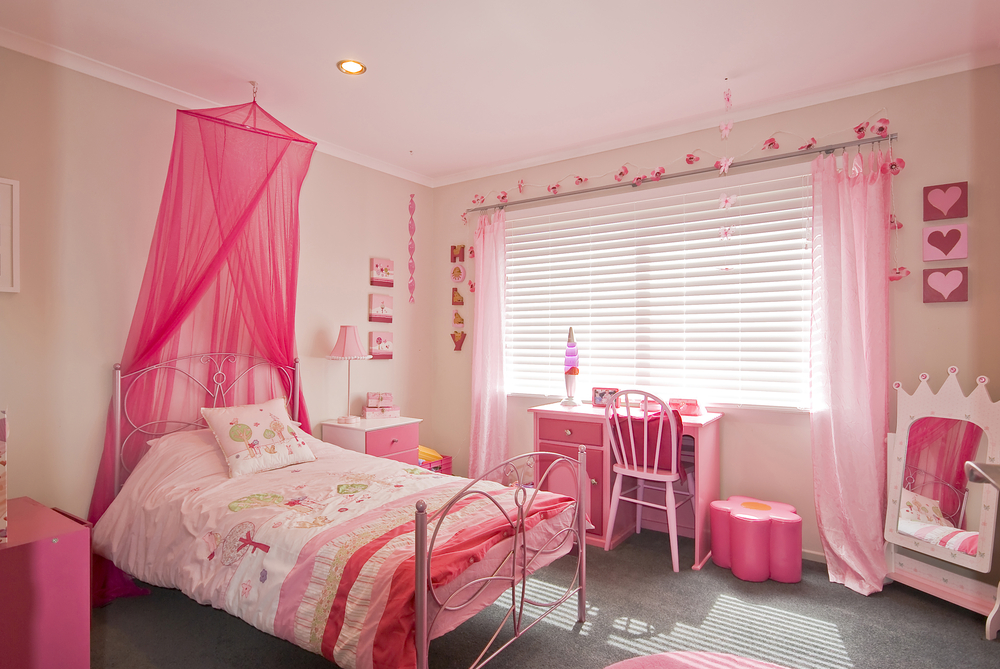 Klamboe in prinsessenkamer