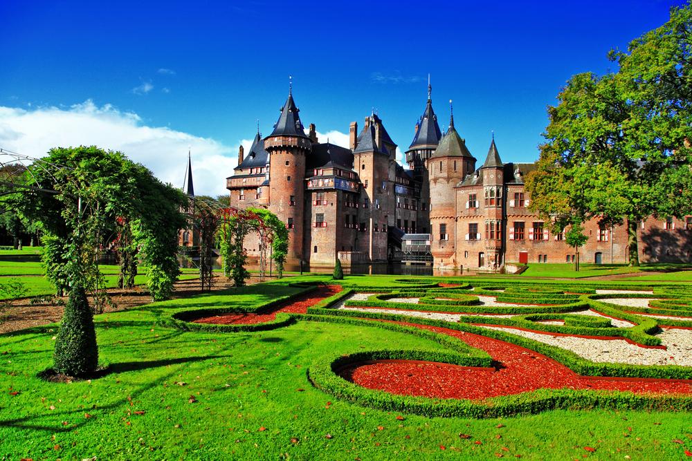 Utrecht Haarzuilens kasteel de Haar