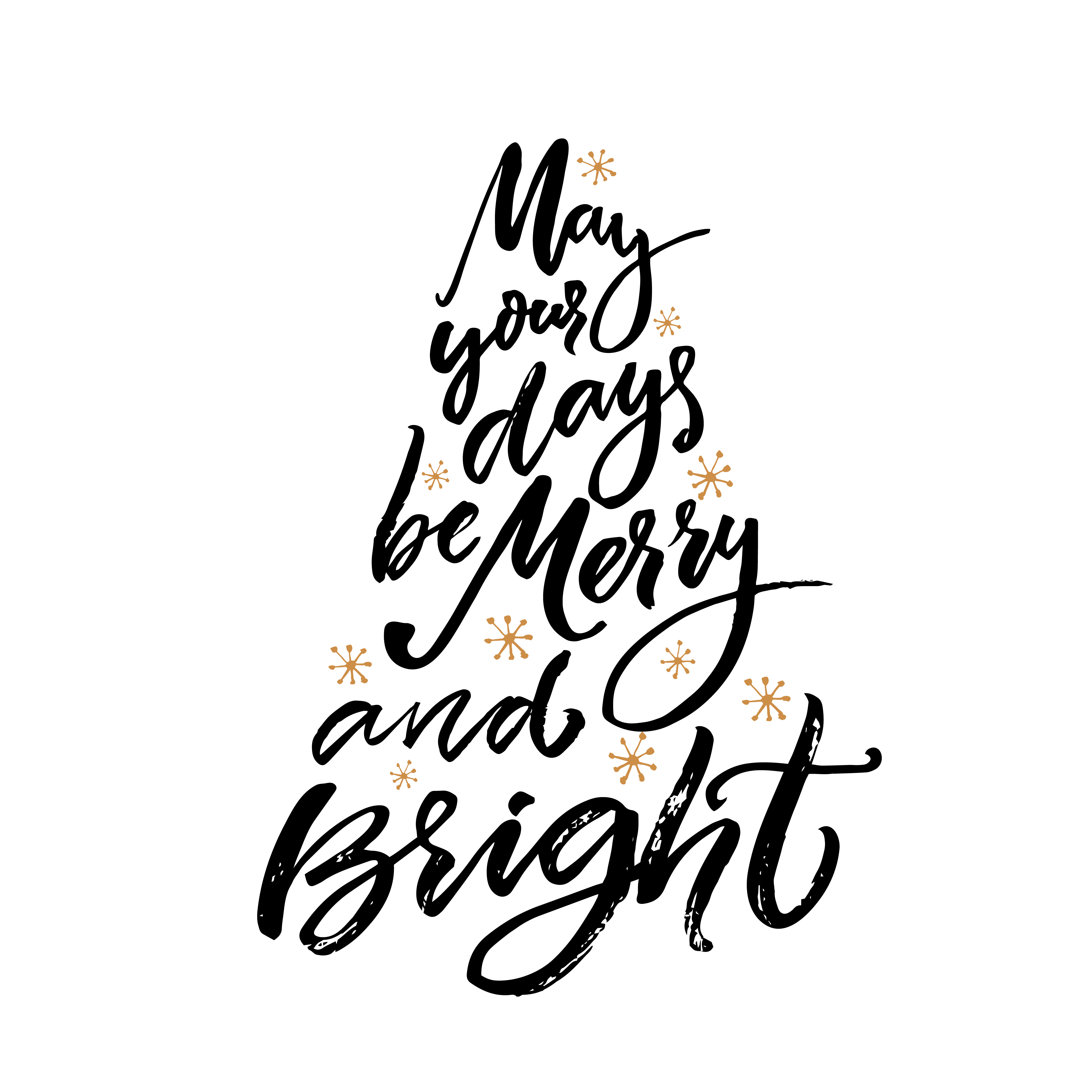 Raamtekening kerst quote