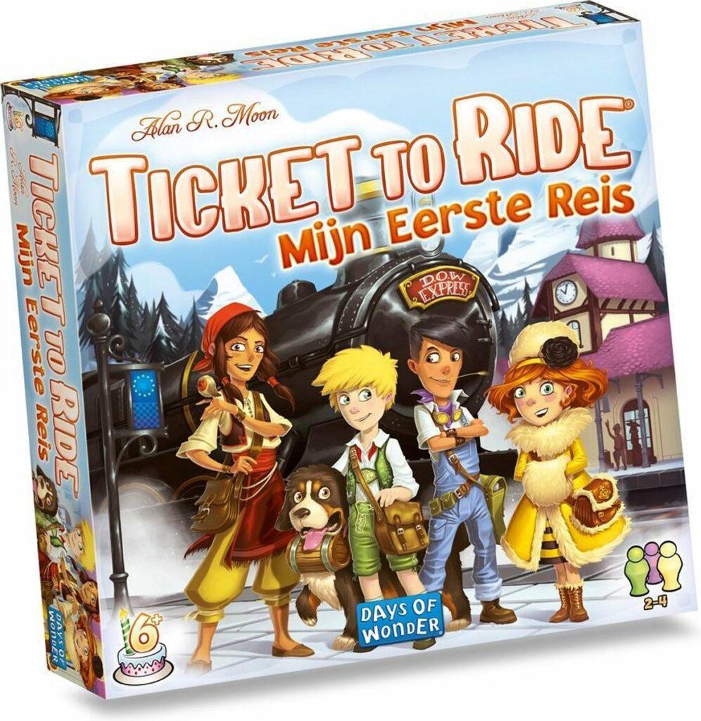 Ticket to ride mijn eerste reis, 3 leukste gezelschapsspellen