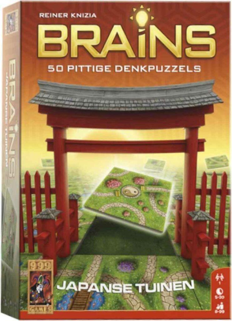 Brains Japanse tuinen; een van de denkspellen van 999-games